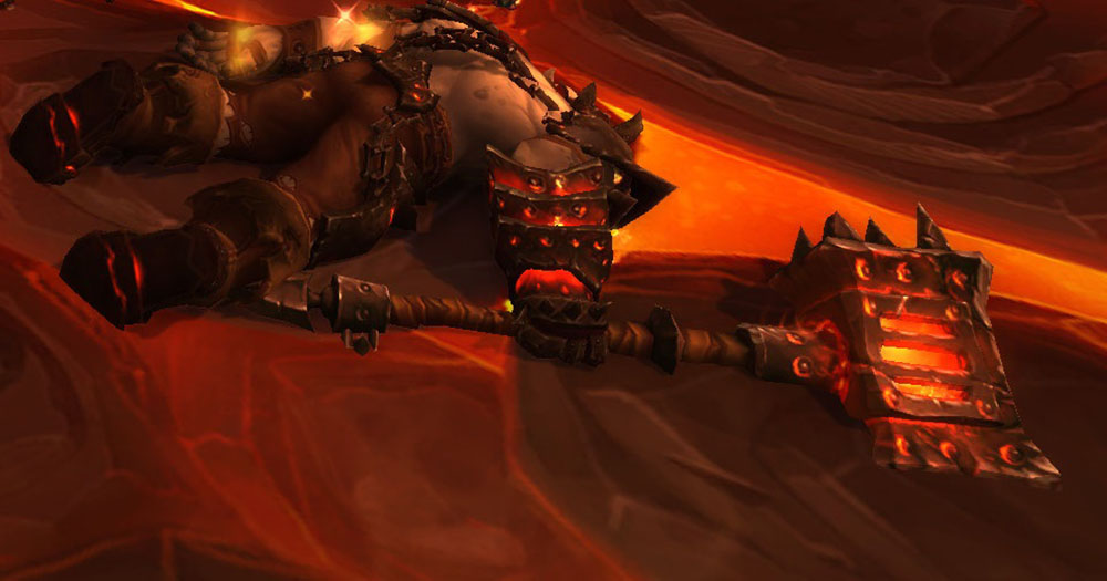 Blackhand Defeated