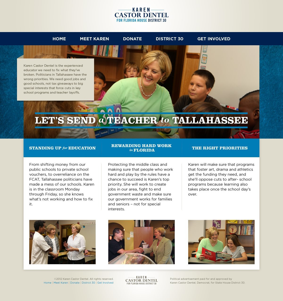 Karen Castor-Dentel Web Design